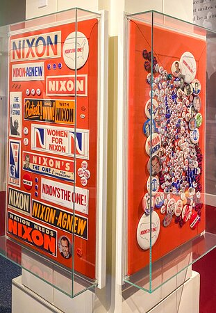 Admission to Richard Nixon Presidential Library and Museum Ticket: Political regalia