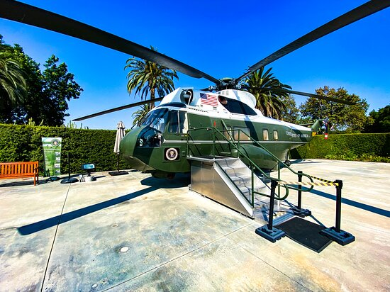 Admission to Richard Nixon Presidential Library and Museum Ticket: Marine One - this one used by four presidents
