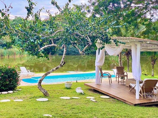 Lugar para descansar, relaxar, pertinho da Praia.