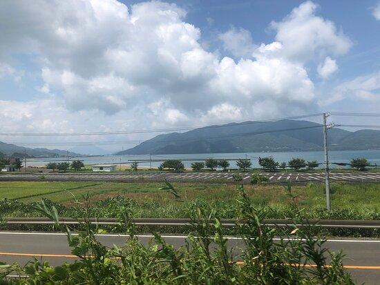 小浜線車窓