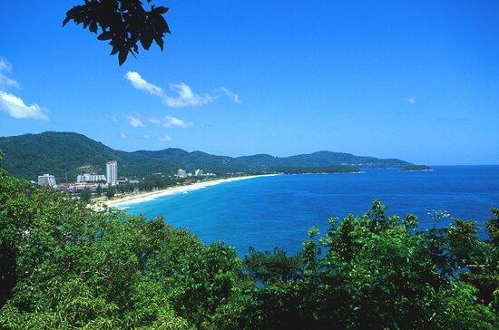 View Over Karon Beach