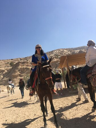 Take a ride on the wild side, Petra Jordan