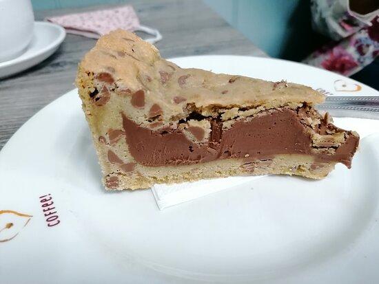 Nutella & Cookie Dough Cake