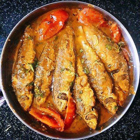 Bata fish curry