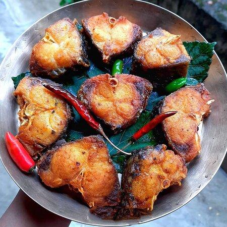Rohu fish fry