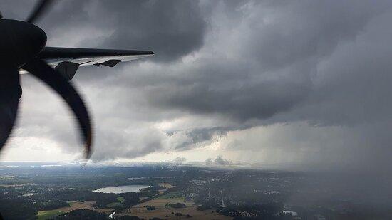 Finnair: Takeoff from Helsinki