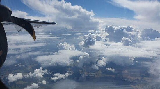 Finnair: On the way from Helsinki to Stockholm