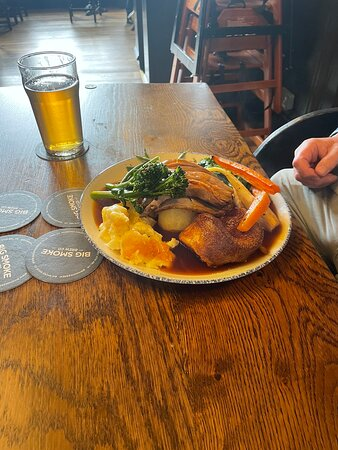Amazing Sunday lunch we came last week and I've been looking forward all week to come again