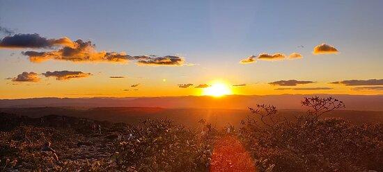 Pôr do Sol no Morro do Pai Inácio - Chapada Diamantina BA