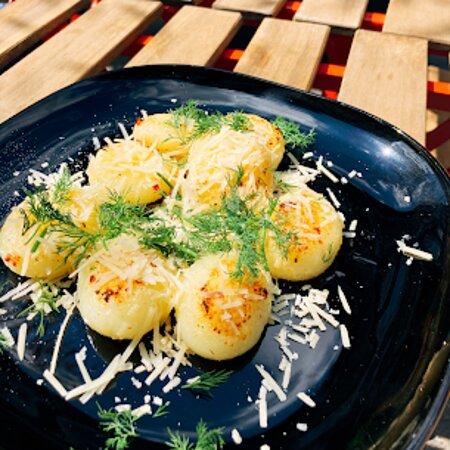 kluski śląskie/polish silesian dumplings