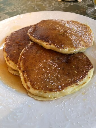 Best lemon blueberry buttermilk pancakes ever!