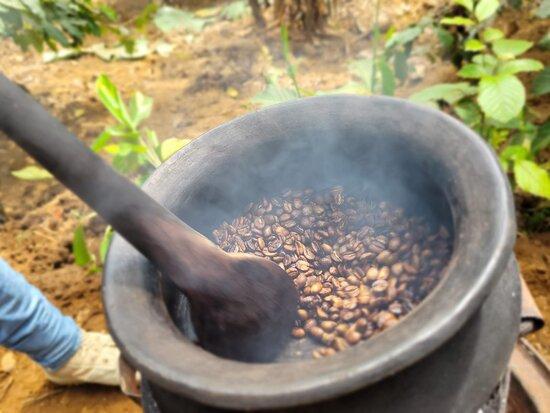 Arusha, Tanzania: Home made coffee ☕️