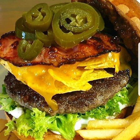Jalapeno Nachos Burger