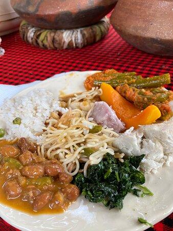 Arusha, Tanzania: Bon apetit!
