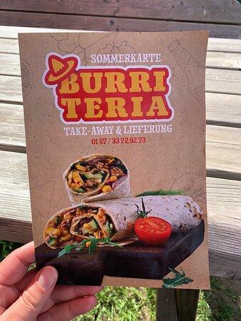 Schermbeck, Germany: Buri Teria Heerlijk klein zaakje om burrito's of hamburgers te eten