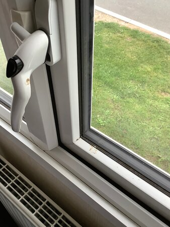 Another dirty window handle and window