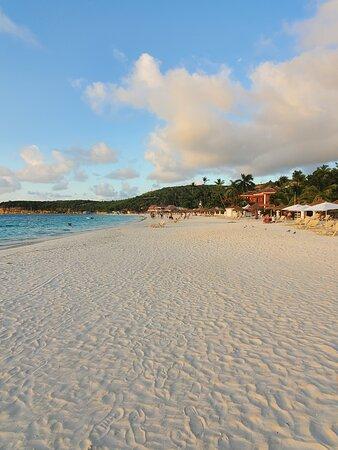 Smooth sandy beach