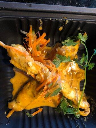Chicken Satay from The Hidden Garden