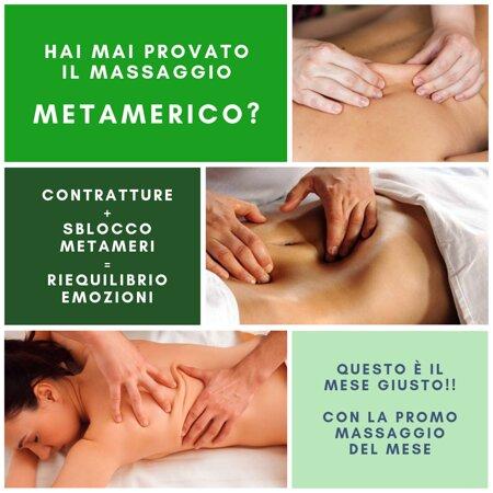 Massaggio Metamerico: massaggio del mese LUGLIO 2021