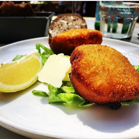the best cheese croquets in Belgium (which means the best in the world)