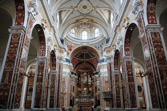 Intérieur de la cathédrale.