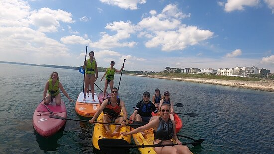 Paddleboarding and Kayaking - two minutes from our door!