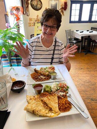 Outstanding ( Comida ) Mexican food.