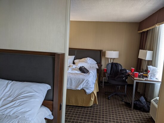 2 King-sized beds in the suite