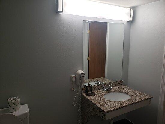 Sink in Handicap Accessible Double Bed Room