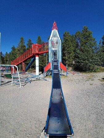 August 2021 🚀 Rocket ship park
