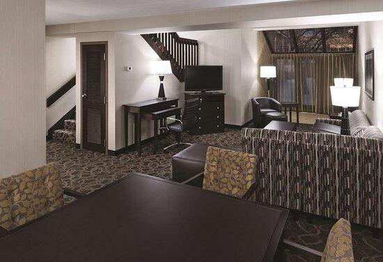 Bi-Level Suite Living Area