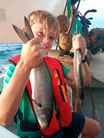 Excursión de Pescaturismo en Vinaroz con el pescador Andrés Beltrán.