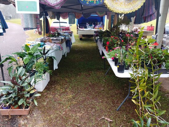 Produce, Arts and Crafts, coffee, live music and much more