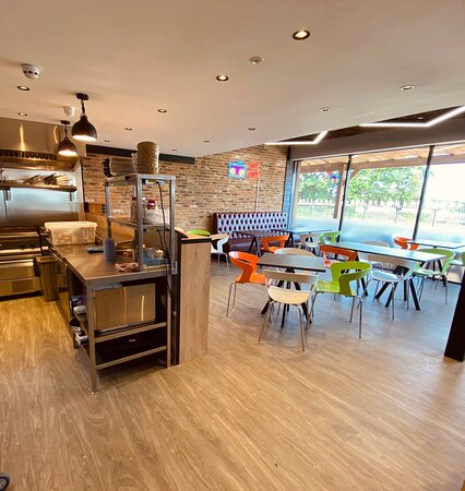 2MT Cafe inside seating area