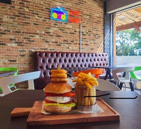 Goat-Cheese Burger