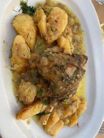 chicken lemon and potatoes