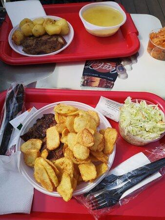 Timisoara, Rumania: menu of the day