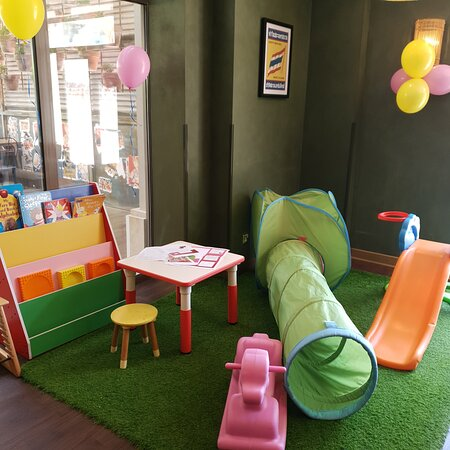 A lovely play area for kids