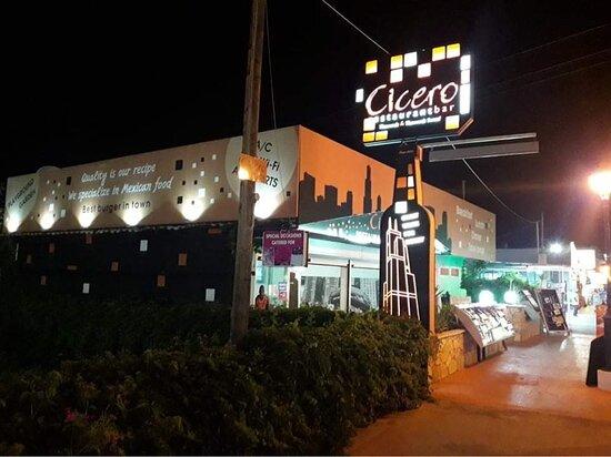 Cicero bar and restaurant!
