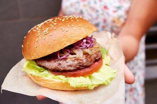 Burger de carne ibérica
