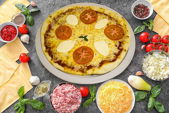 Pizza Buffala Sauce tomate, Mozzarella, Buffala, Tomate
