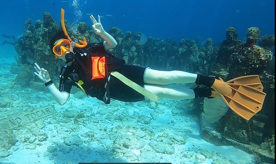 MUSA underwater museum!