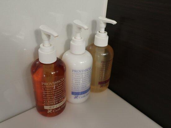 ペリカン石鹸製のホテルオリジナルアメニティ