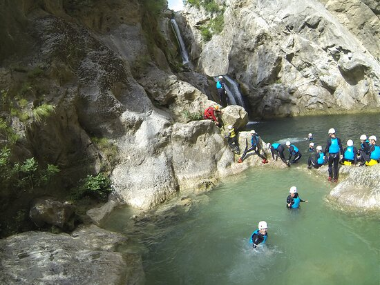 Canyoning basic on Cetina river from Omiš: Canyoning August 2021