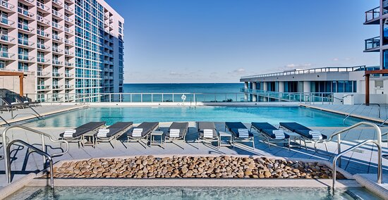 Atlantic Pool - Rooftop, adults-only saltwater pool.