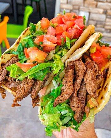 Cafe Rio Steak Tacos
