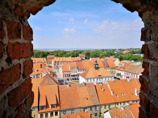 Castle Reszel - view from the Tower