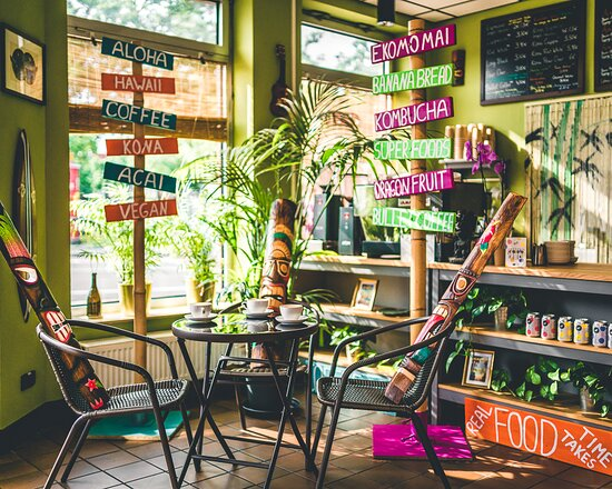 Hawaiianisches Café in Celle