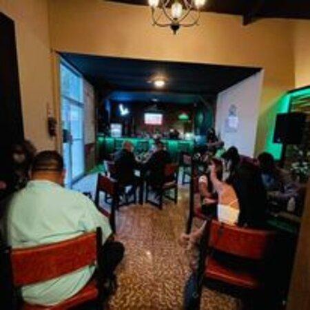salon and bar