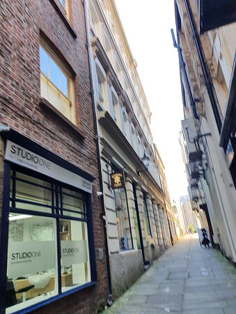 Beautiful building down Leather Lane